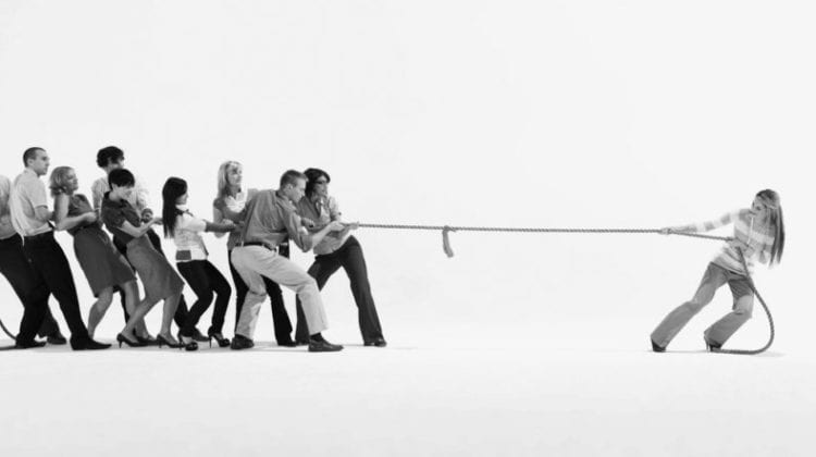 Get as much from your firm as they're taking - business tug of war