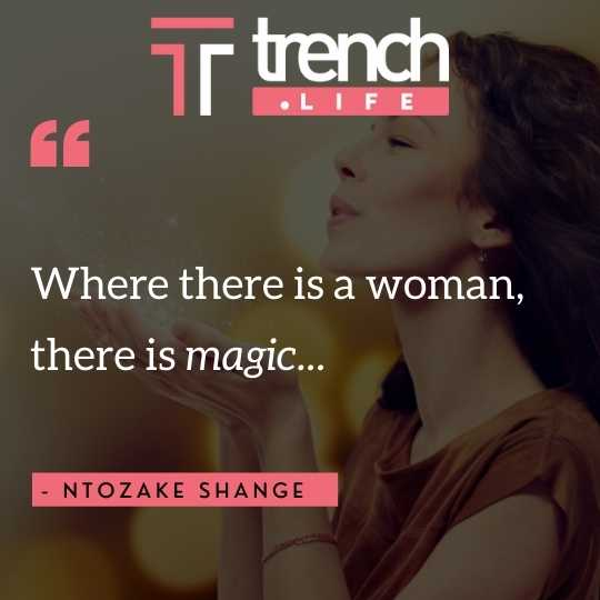 Quote about women - magic