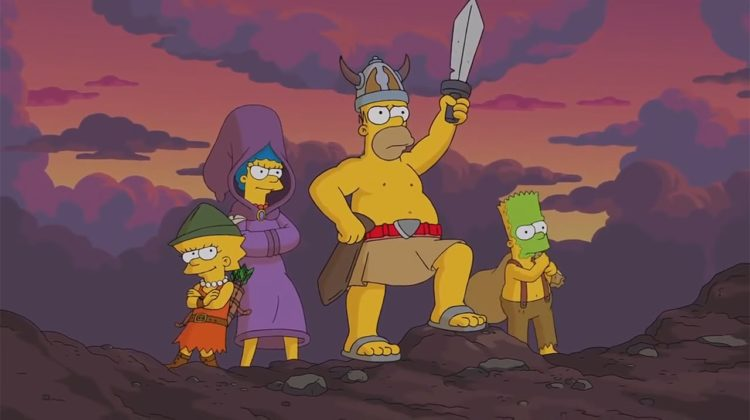 """Going to War against """"how are you"""" - Simpsons"""